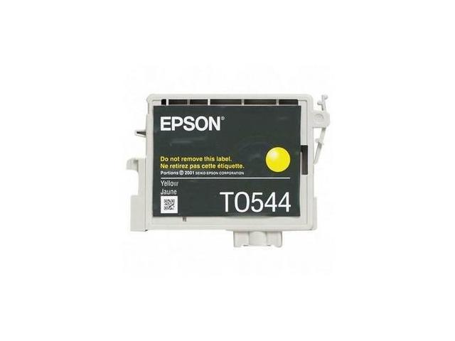 Epson Yellow Ink Cartridge - Inkjet - 400 Page - Yellow - 1