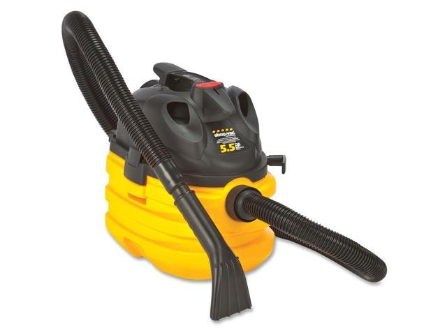 Shop-Vac Corp Vacuum, Wet Dry, H/D, 5.5Hp, 5 Gal, 20 Ft Cord, Yellow/Black