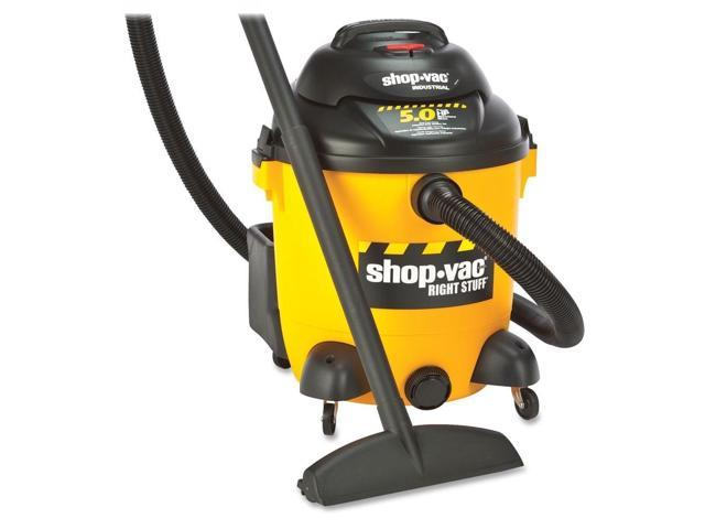 Shop-Vac Corp Vacuum, Wet/Dry, 12 Gallon, 5.0 Hp, 18 Ft Cord, Yellow/Black