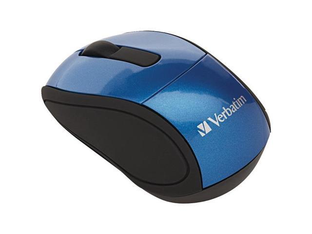 Wireless Mini Travel Mouse - Blue