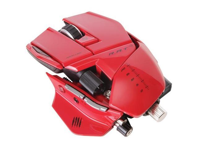 Optical Mouse - Red
