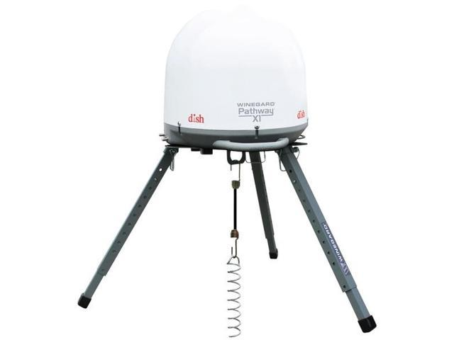 X1 Ultra-Compact Automatic Portable Satellite TV Antenna