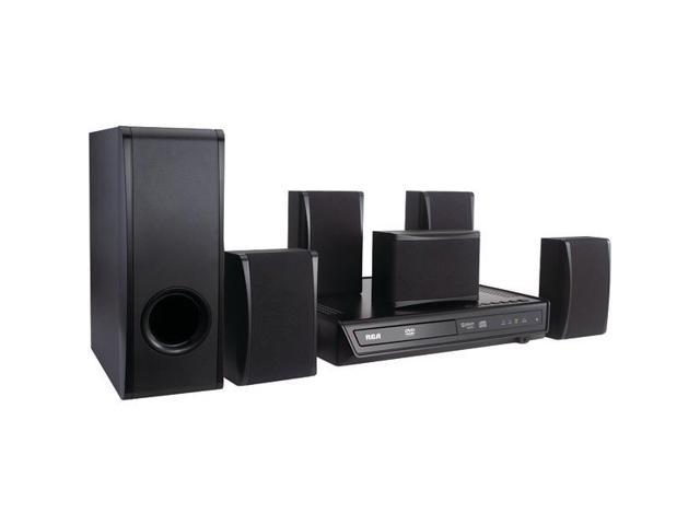Home Theater System with Built-In DVD