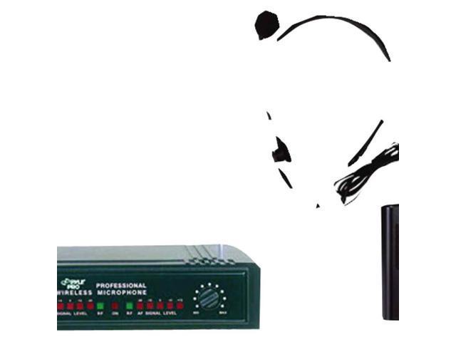 2-Channel VHF Wireless Microphone