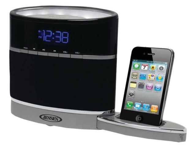 iPhone Docking Alarm Clock Radio with Night Light