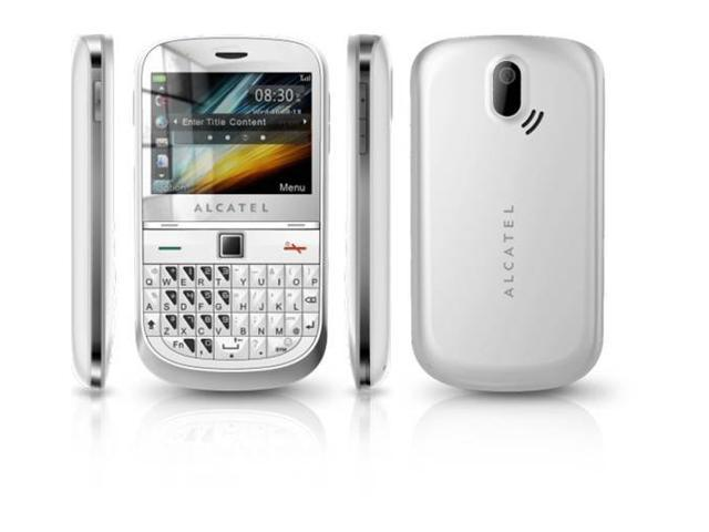 Alcatel OT901A White (Unlocked) GSM Cellular