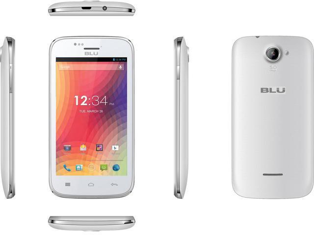 BLU Advance 4.0 A270A White (Unlocked) GSM Smartphone