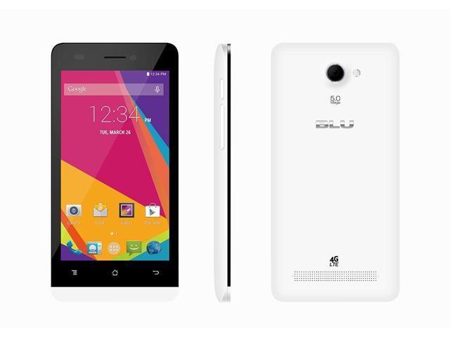 BLU Studio Mini LTE 4G X100Q White (Unlocked) Smartphone