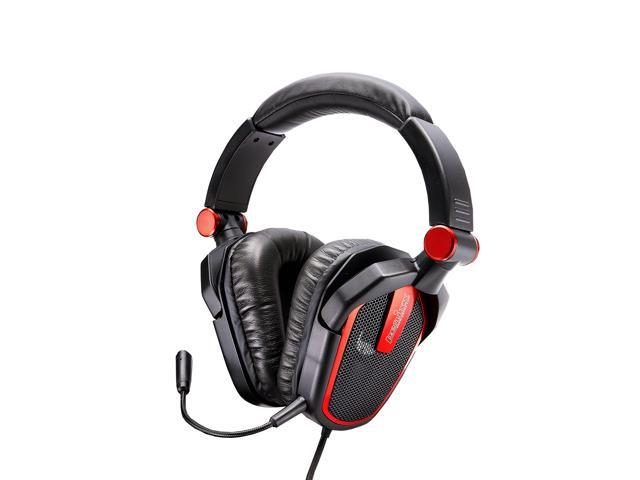 Perixx AX-1000B 50mm Gaming Headset - Detachable Mic, 6 Ft Braided Fiber Cable, Gold-Plated Audio Connector