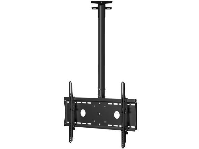 Cheetah Mounts Plasma LCD TV Tilt And Swivel Ceiling Mount for 32 to 63-Inch (Black)