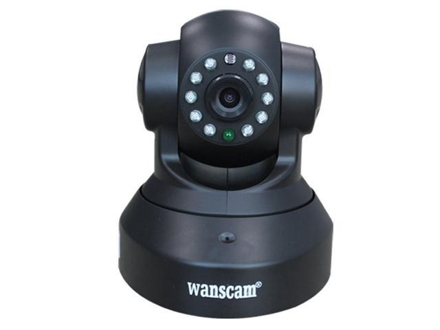 Wanscam JW0012 Mini CCTV camera WiFi WPA Network Webcam wireless camara IP Internet for home security Surveillance Black