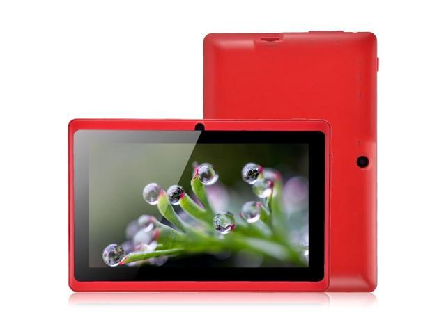 Allwinner A23 7 Inch Android Tablet PC Q88 Dual Core Android 4.2 WIFI 512MB 4GB Dual Camera