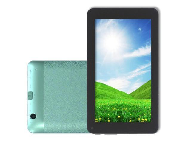 HAMSWAN 7 Inch Android 4.2 Dual Core VIA 8880 1.5GHz Tablet PC (512MB 4GB, Wi-Fi, HDMI, Dual Camera, Capacitive Touch) (Green)