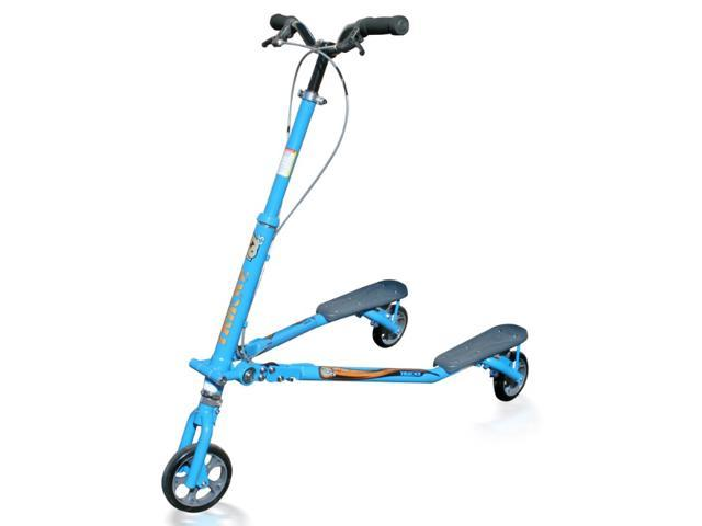 Trikke T67CS BLUE Balance 3 Wheeled Carving Scooter