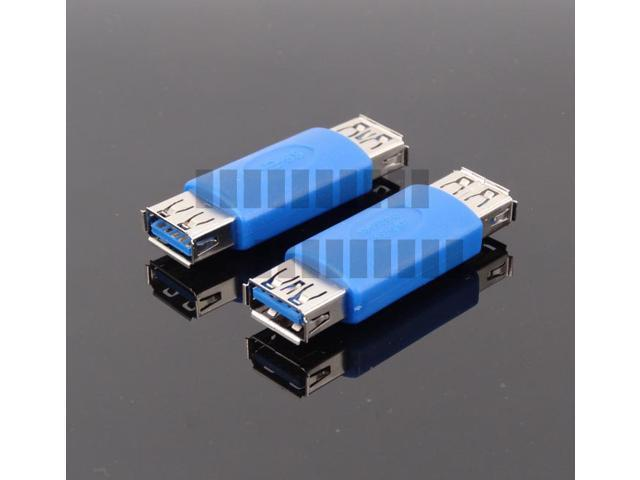 USB 3.0 A Female to Female F-F Adapter Converter Extender Connector Installation Internal PC -OEM