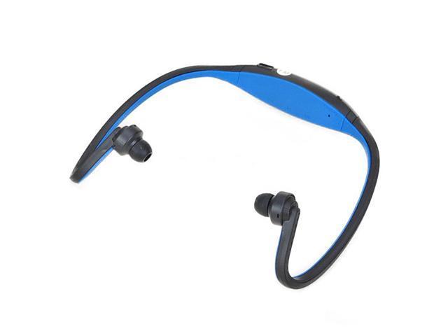 Sports Music Player-Headset Handsfree Headphones 2GB-Blue NE#2