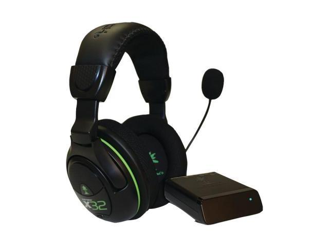Turtle Beach X32 Tbs-2265-01 Xbox 360(R) Wireless Stereo Headset With Microphone