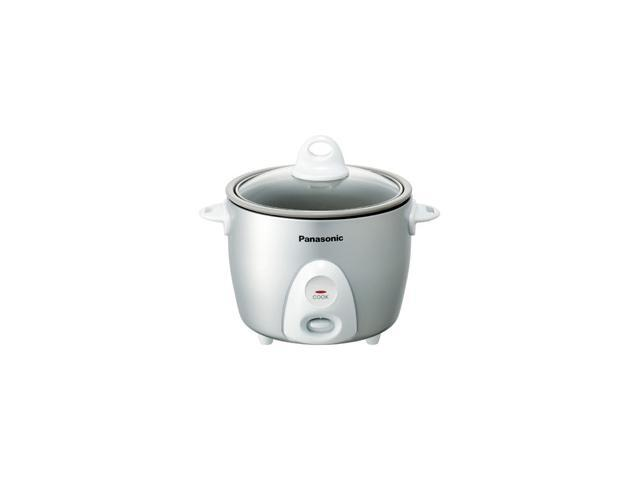 Panasonic Srg06fg Silver Rice Cooker Steamer 3.3Cup Non Stick