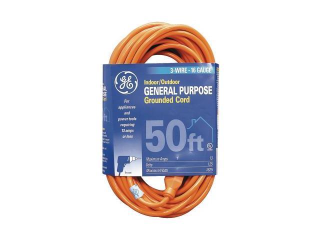 Ge Jashep51926 Indoor/Outdoor Extension Cord (50 Ft)
