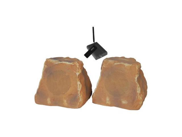 Tic Corporation Wrs010 Cn 5.25 Wireless Outdoor Rock Speakers (Canyon)