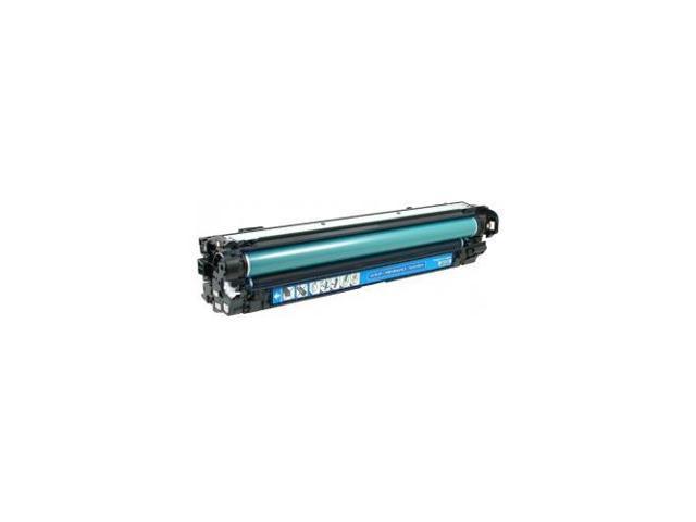HQ Supplies © Remanufactured HP 650A (CE271A) Cyan Laser Toner Cartridge for HP Color LaserJet Enterprise CP5525, Color LaserJet Enterprise ...