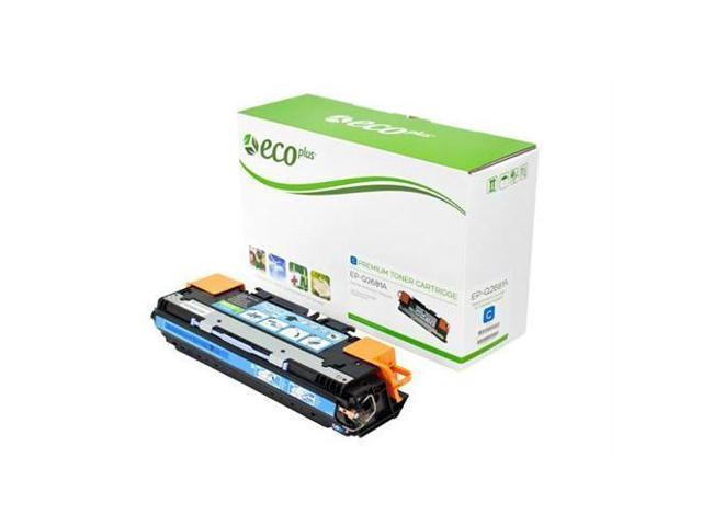 Hewlett Packard COLOR LASERJET 3700DTN ECOPlus Remanu Toner Cartridges - Cyan - 6K YIELD