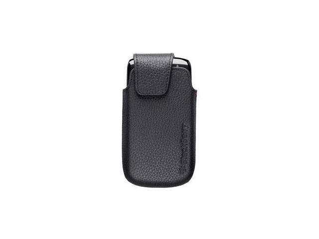 Blackberry Hdw-38955-001 9850 / 9860 Torch Black Leather Swivel Holster Bulk Pkg -