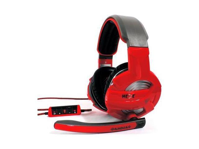 GAMDIAS GHS2300 USB Hebe USB Connector Circumaural Surround Sound Gaming Headset