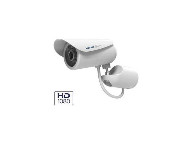 Y-Cam Ycblhd8 2 Megapixel Network Camera - Color - Cmos - Cable Wireless - Wi-Fi - Fast Ethernet