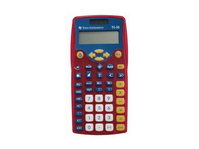 Texas Instruments TI-10 Scientific Calculator - 2 Line(s) - 11 Character(s) - LCD - pack of 10