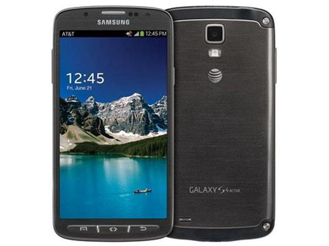 Samsung Galaxy S4 Active I537 Unlocked GSM 4G LTE Android 4.2 Smartphone - Urban Gray