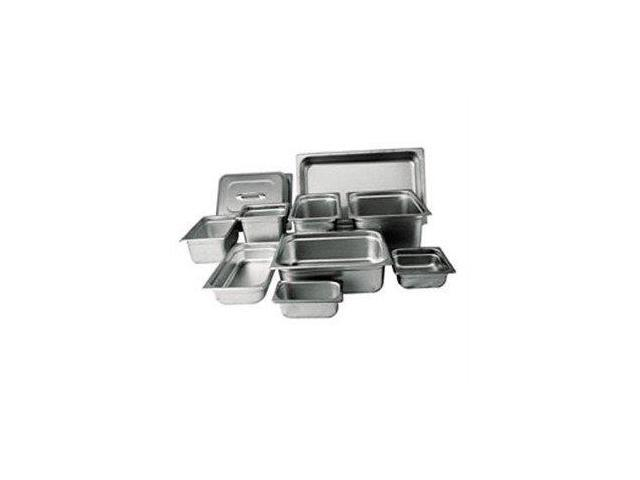 Winco SPJH-202 Steam Table Pan, Half Size, 2-1/2