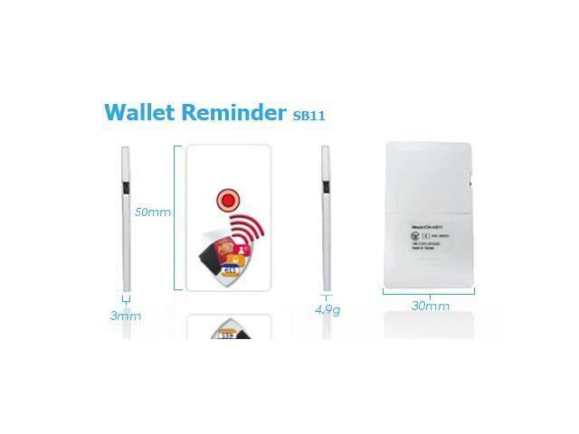 Ardi Bluetooth 4.0 Wallet Alarm Anti-Lost Phone Finder with card size for iOS Android