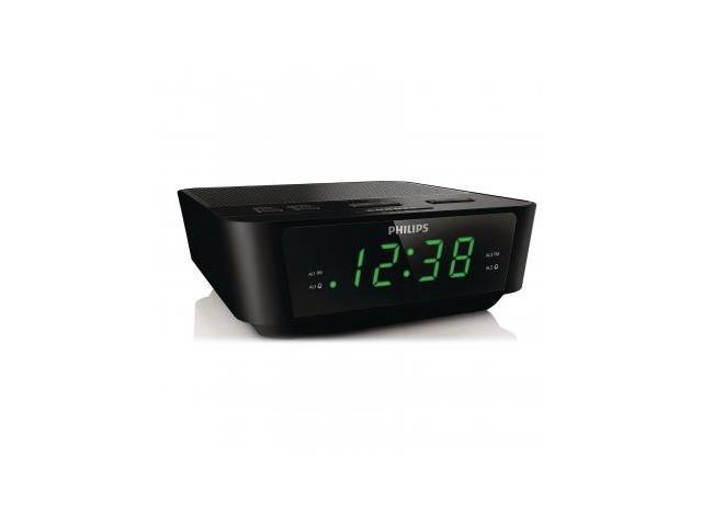 Philips Digital Tuning Clock Radio - Black