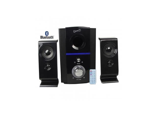 Supersonic 2.1 Bluetooth Multimedia Speaker System With USB/SD And Remote
