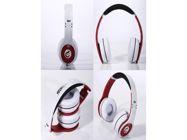 White Syllable G08 -002 Foldable Wireless Bluetooth Noise Reduction Headphone