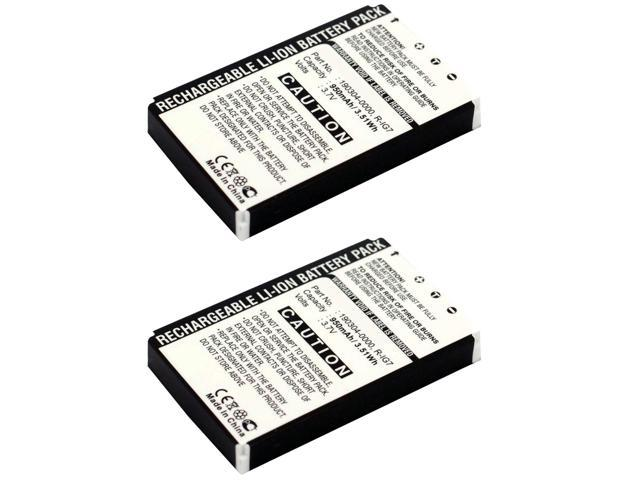 2x Exell Remote Control Battery Fits Logitech Wireless DJ Music System USA SHIP