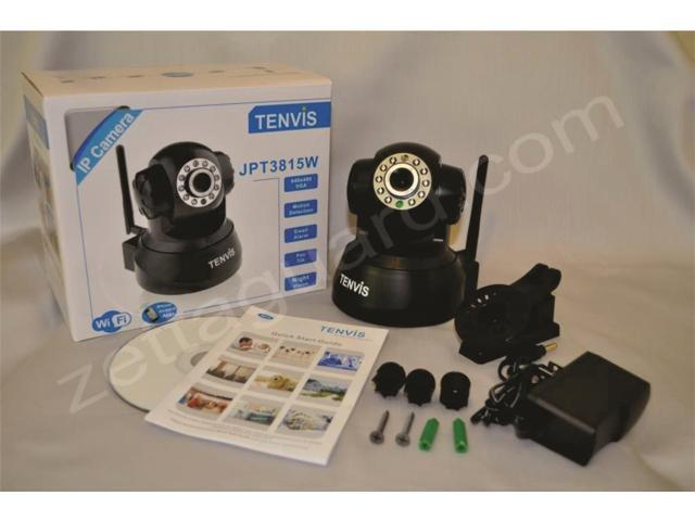 TENVIS® JPT3815W Wireless/ Wired Webcam iPhone Samsung Android IP Camera Audio Video WIFI Camera OSD IR Motion Detction