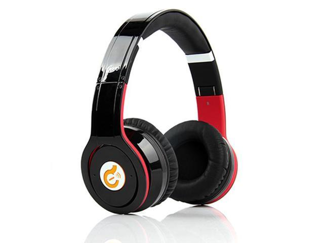 Wireless Bluetooth Syllable G08 Noise Reduction Cancellation Headphones black