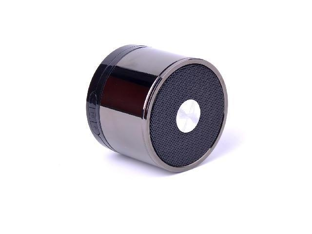 Newest Mini stainless steel Portable Bluetooth Speaker With USB and Power Supply