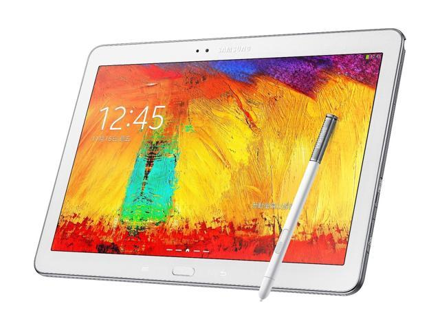 New Samsung Galaxy Note 10.1 (2014 Edition) SM-P605 4G LTE 16GB Tablet - White