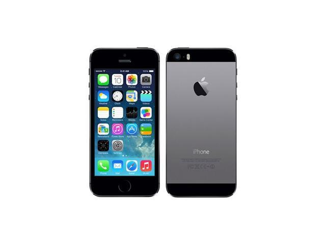 Apple iPhone 5S Space Gray LTE 32GB Unlocked Cell Phone