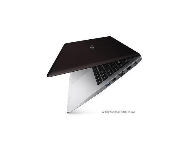 ASUS VivoBook V400CA-DB31T 14-Inch Touchscreen Ultrabook (Black Aluminum)