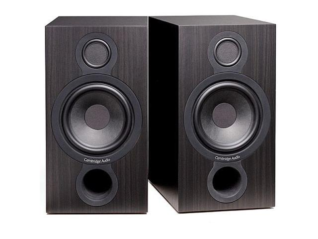 Cambridge Audio Aero-2 Bookshelf Speakers - Black Pair