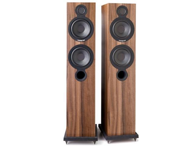 Cambridge Audio Aero-6 Tower Speakers - Walnut Pair