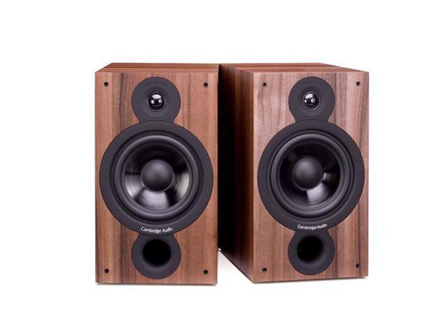 Cambridge Audio SX60 Bookshelf Speakers - Walnut Pair