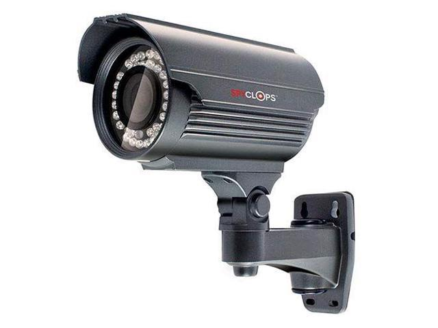 Spyclops Security Bullet Camera - Gray