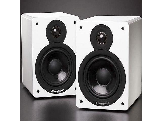 Cambridge Audio Minx XL Bookshelf Speakers - White Pair
