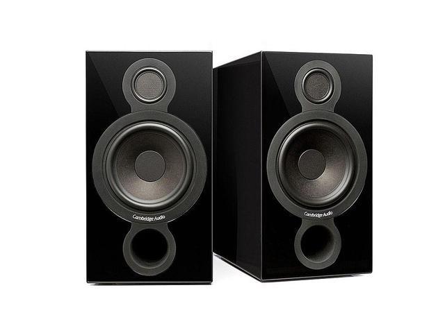 Cambridge Audio Aeromax-2 Bookshelf Speakers - Black Pair