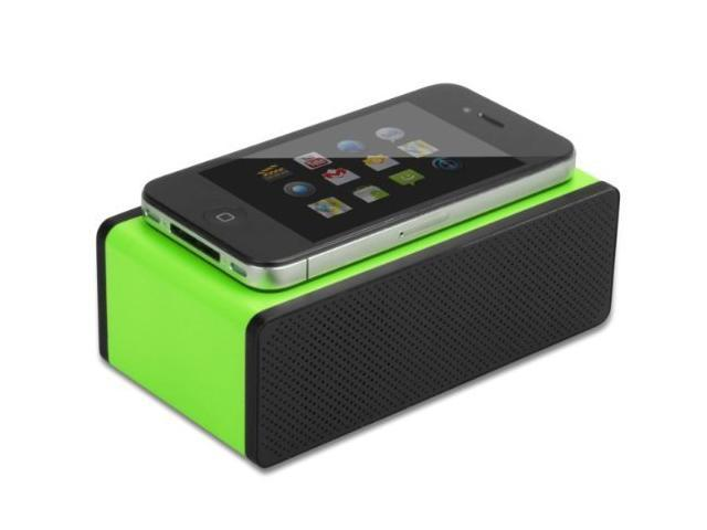 ECSEM® Portable Mini Wireless Magic touch Iphone near field Speakers Mutual Electromagnetic Induction Amplifier Speakers for Iphone 5 5S 5C 4s ...